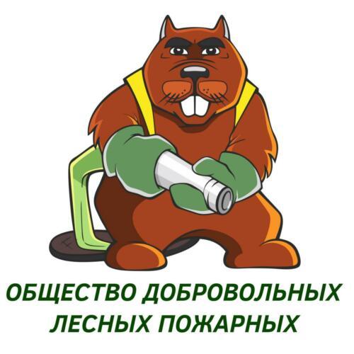 2021 Логотип Добровольные лесные пожарные